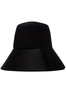 Valentino panelled felt bucket hat