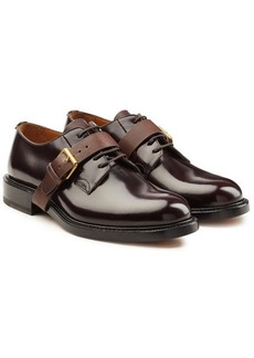 Valentino Patent Leather Lace-Ups