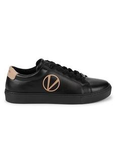 Valentino Petra Leather Platform Sneakers
