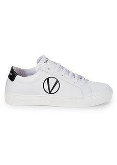 Valentino Petra Logo Leather Sneakers