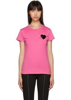 Valentino Pink Heart T-Shirt