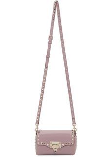 Pink Valentino Garavani Mini Rockstud Cross Body Bag