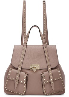 Pink Valentino Garavani Rockstud Backpack