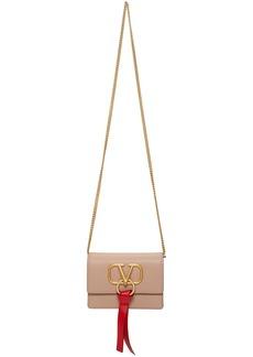 Pink Valentino Garavani VRing Chain Bag