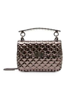 Valentino Polymeric Studded Shoulder Bag