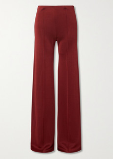 Valentino Ponte Wide-leg Pants