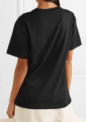 Valentino Printed cotton-jersey T-shirt