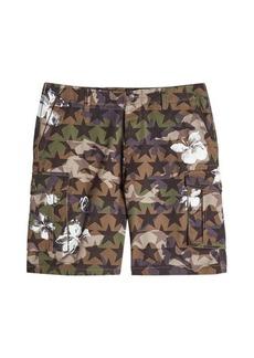 Valentino Printed Cotton Shorts
