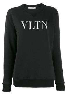 Valentino printed logo sweatshirt