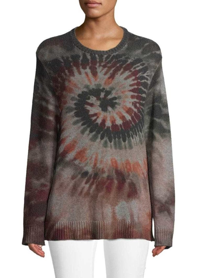Valentino Printed Wool & Cashmere Blend Sweater