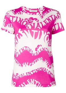 Valentino psychedelic logo T-shirt