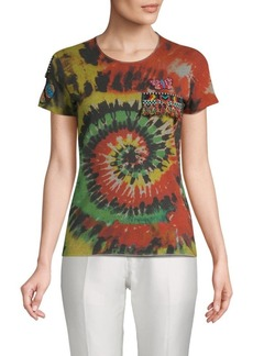 Valentino Psychedelic-Print Cotton Tee