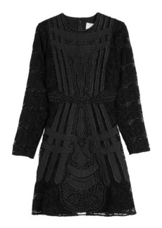 Valentino Raffia Lace Dress