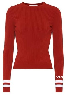 Valentino Ribbed knit sweater