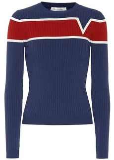 Valentino Ribbed knit sweater