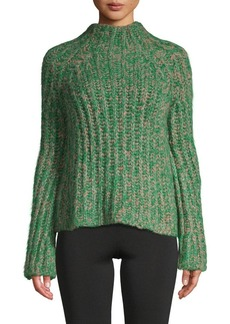 Valentino Ribbed Silk Sweater