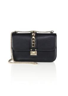 Valentino Medium Rocklock Leather Crossbody Bag