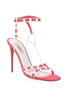 Valentino Rockstud Ankle StrapSandal