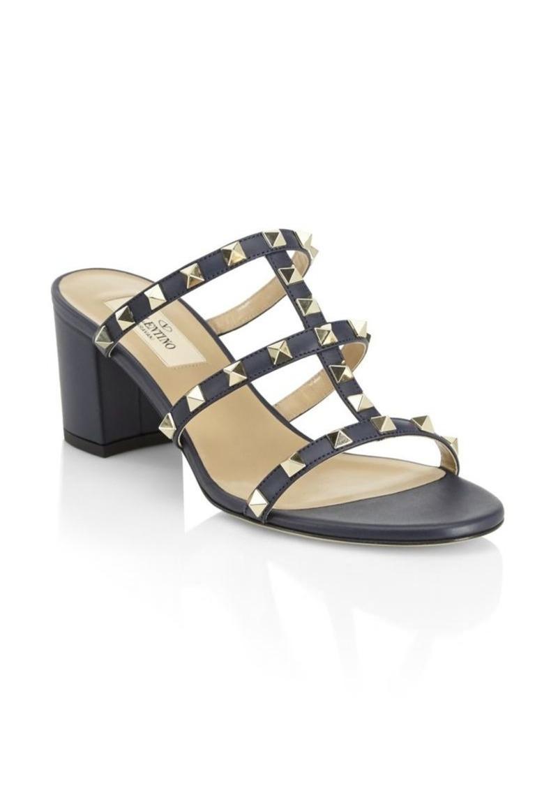 Block Heel Rockstud Valentino SandalsShoes Heel Rockstud Valentino Block OXkiuZTP