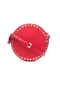 Rockstud embellishment crossbody bag