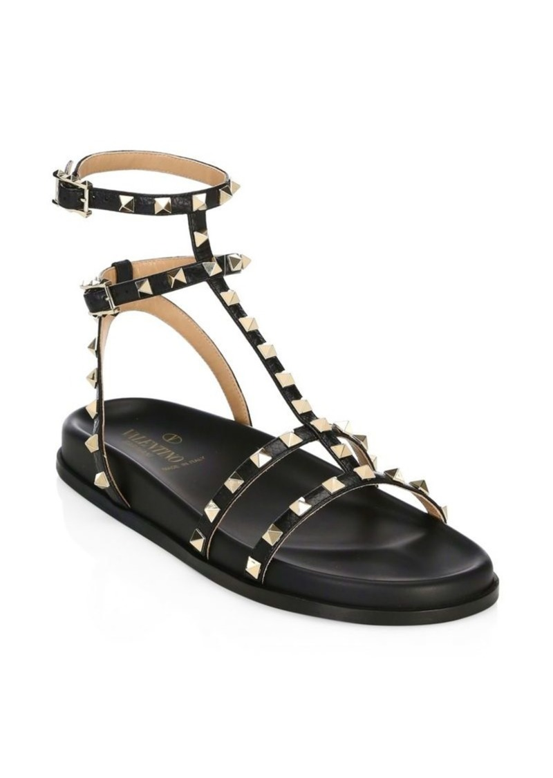 Gladiator Valentino Gladiator SandalsShoes Valentino Rockstud SandalsShoes Rockstud Valentino vwOm08Nn