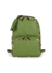 Valentino Rockstud Leather Backpack