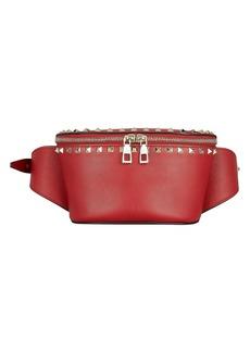 Valentino Rockstud Leather Belt Bag