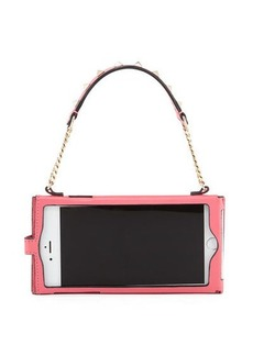Valentino Rockstud Leather Chain iPhone 7+ Case