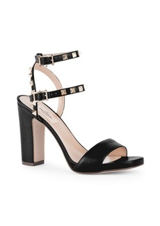 Valentino Rockstud Leather Slingback Sandals