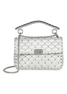 Valentino Rockstud Quilted Leather Bag