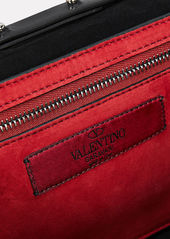 Valentino Rockstud Quilted Leather Clutch