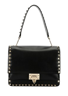 Valentino Rockstud Smooth Leather Shoulder Bag