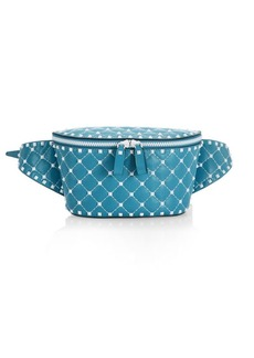 Valentino Rockstud Spike Leather Belt Bag