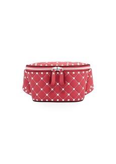 Valentino Rockstud Spike Quilted Belt Bag