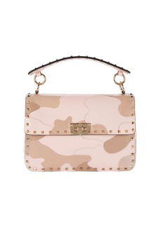 Valentino Rockstud Spike.It Patchwork Camo Bag