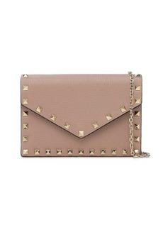 Valentino Rockstuds Leather Envelop Shoulder Bag