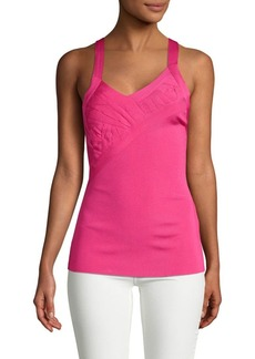 Valentino Ruched Knit Camisole