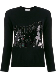 Valentino sequin embellished jumper