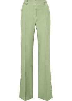 Valentino Silk-blend Crepe Straight-leg Pants