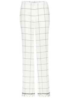 Valentino Silk printed trousers
