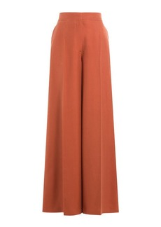 Valentino Silk Wide Leg Pants