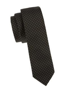 Valentino Slim Printed Silk Tie