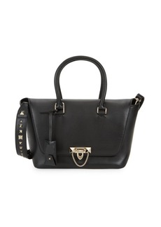 Valentino Small Leather Double-Handle Bag