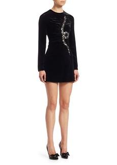 Valentino Snake Velvet Dress