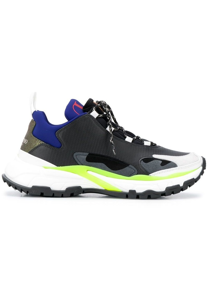 Valentino Garavani panelled sneakers