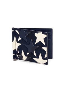 Valentino Star Leather Wallet
