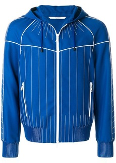 Valentino stitched stripe trim jacket