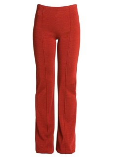 Valentino Straight-Leg Knit Trousers