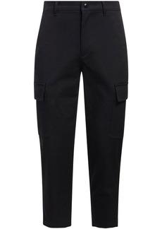 Valentino Stretch Cotton Slim Cargo Pants