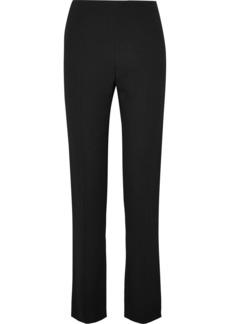 Valentino Stretch-crepe Slim-leg Pants